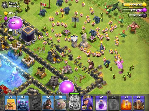 Clash of Clans captura de pantalla 5