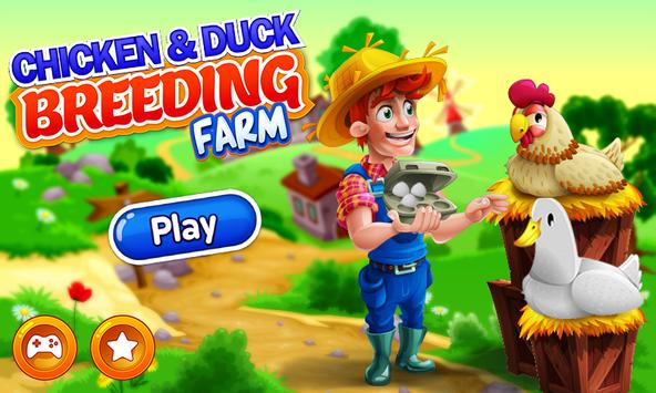 USA Poultry Farming: Chicken and Duck Breeding poster