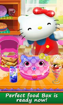 Hello Kitty Food Lunchbox Game: Cooking Fun Cafe screenshot 8