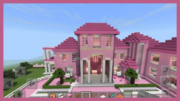 Pink Princess House maps for MCPE screenshot 1