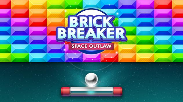 Brick Breaker : Space Outlaw poster