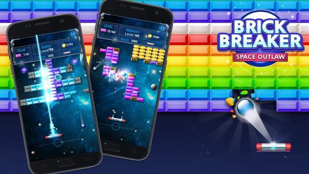 Brick Breaker : Space Outlaw screenshot 1