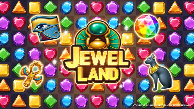 Jewels Land® : Match 3 puzzle poster