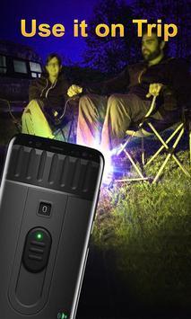 Super Flashlight: HD Torch Light screenshot 2