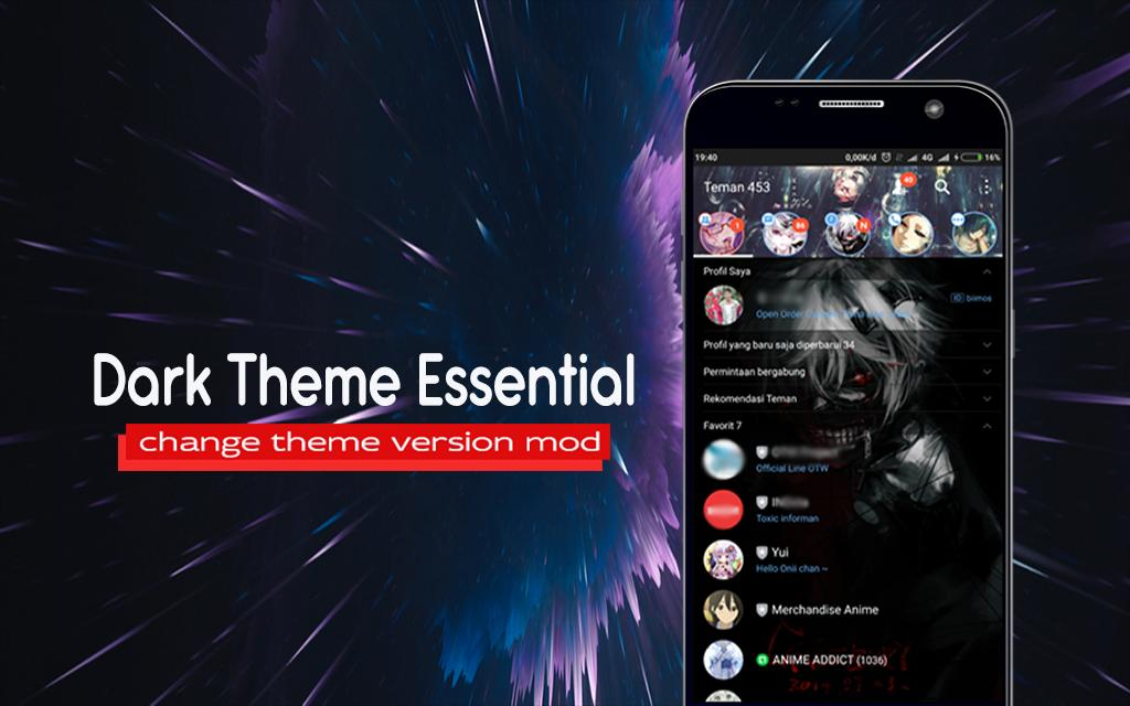 WA Theme Black Mod for Android - APK Download