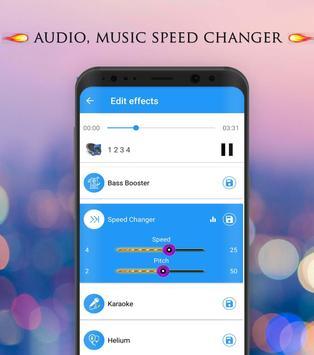 Pengubah Suara - Efek Audio screenshot 1