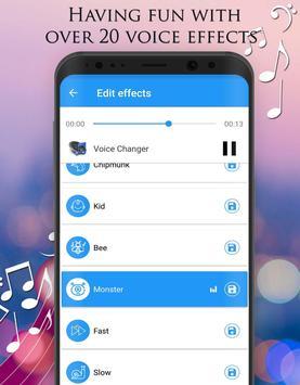 Pengubah Suara - Efek Audio screenshot 2