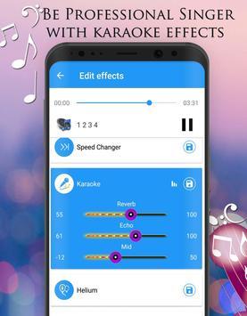 Pengubah Suara - Efek Audio screenshot 4