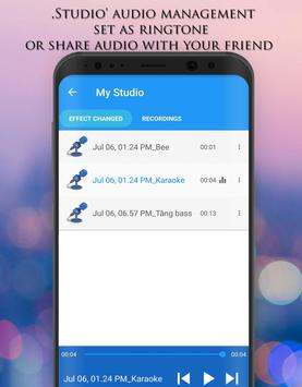 Pengubah Suara - Efek Audio screenshot 5