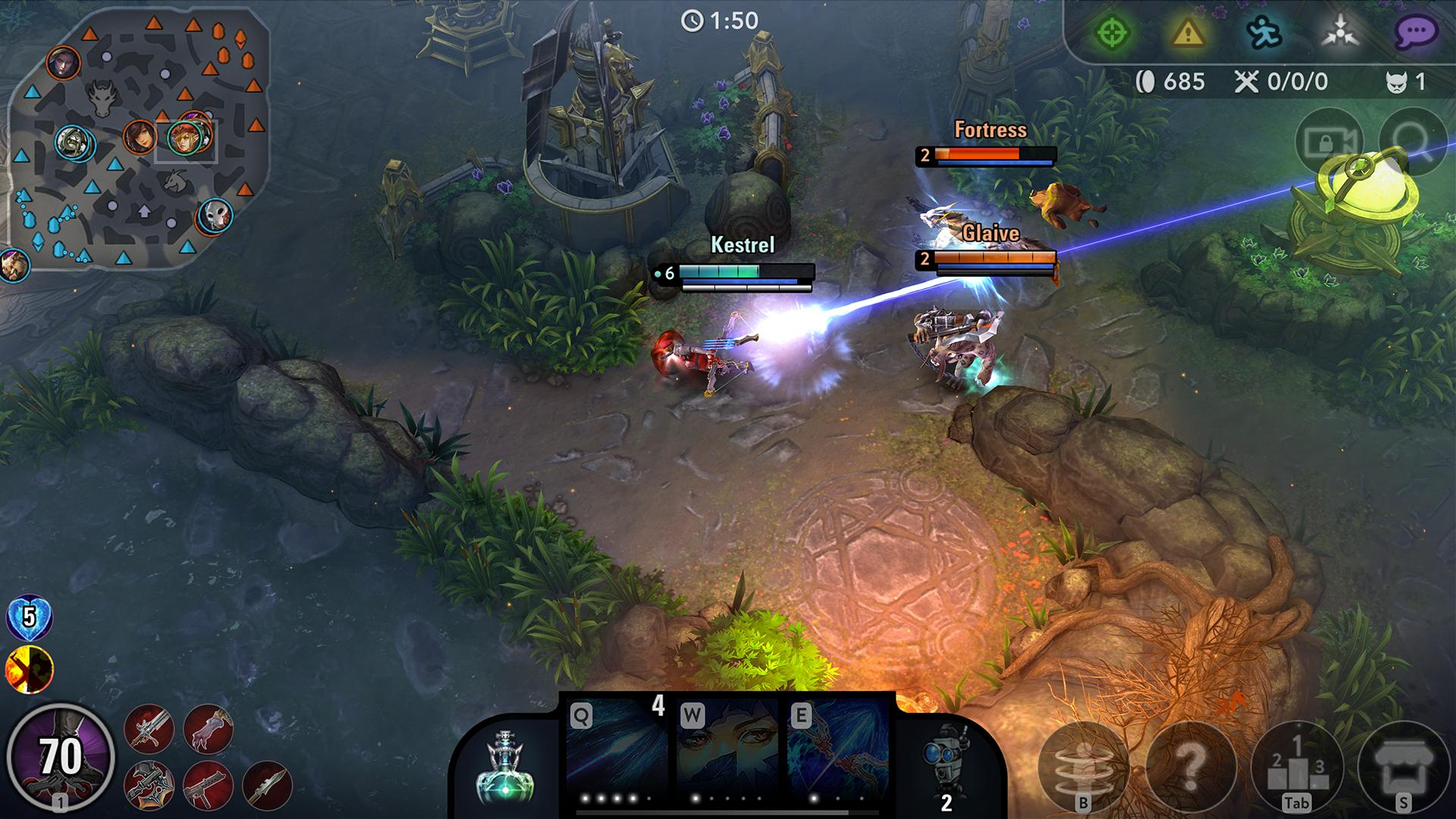 Image result for vainglory mobile
