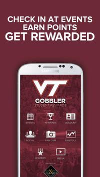 Gobbler Student Rewards poster