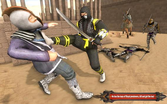 Superhero Ninja Arashi with Samurai Assassin Hero screenshot 7