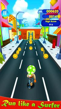 SuperHeroes Subway Surf Train Rush : End Game poster