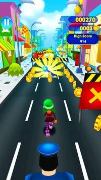SuperHeroes Subway Surf Train Rush : End Game screenshot 1