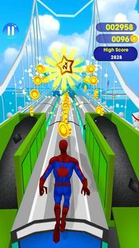 SuperHeroes Subway Surf Train Rush : End Game screenshot 2