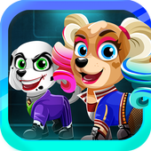 Super Villain Pups Squad Dressup and Makeover Game (Unreleased) icon