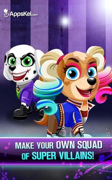 Super Villain Pups Squad Dressup and Makeover Game (Unreleased) poster