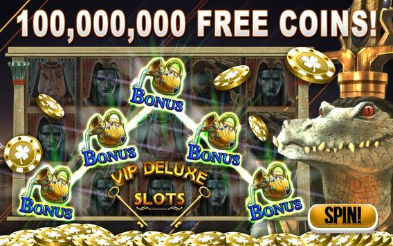 Slots: VIP Deluxe Slot Machines Free - Vegas Slots poster