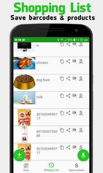 Supermarket Barcode Scanner & Price Checker screenshot 14