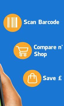 Supermarket Barcode Scanner & Price Checker screenshot 1