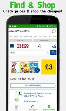 Supermarket Barcode Scanner & Price Checker screenshot 3