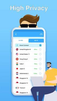 Super Master Free VPN - High Speed, Secure Proxy Ekran Görüntüsü 3