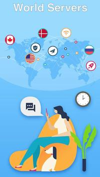 Super Master Free VPN - High Speed, Secure Proxy Ekran Görüntüsü 1