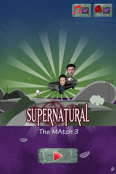 Supernatural Match Three poster
