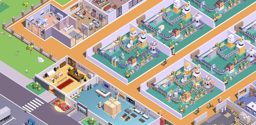 Super Factory-Tycoon Game APK