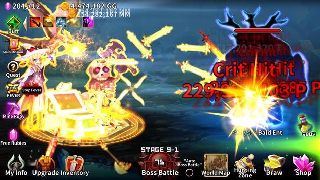 The Chest: A Cursed Hero - Idle RPG screenshot 20