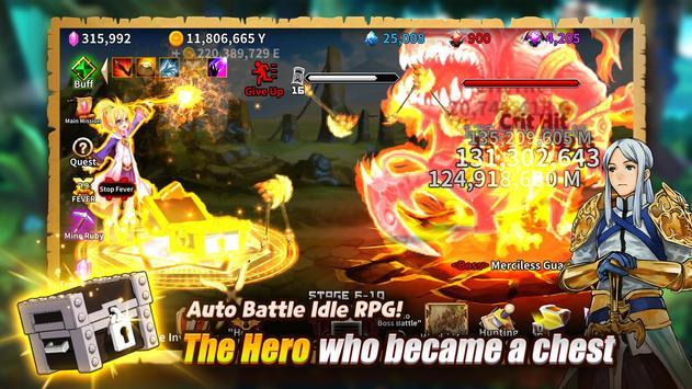 The Chest: A Cursed Hero - Idle RPG screenshot 8