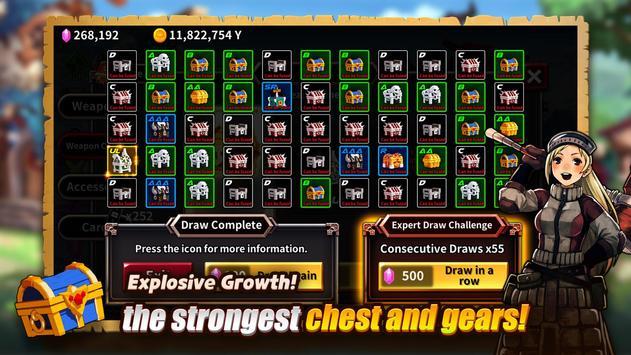 The Chest: A Cursed Hero - Idle RPG screenshot 11