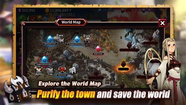 The Chest: A Cursed Hero - Idle RPG screenshot 5
