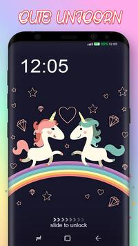Cute Unicorn Pony Wallpaper screenshot 1