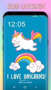 Cute Unicorn Pony Wallpaper screenshot 2