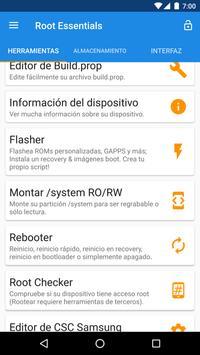 Root Essentials captura de pantalla 1