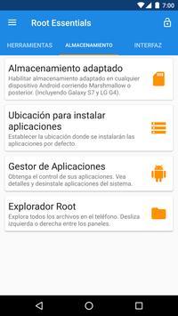 Root Essentials captura de pantalla 2