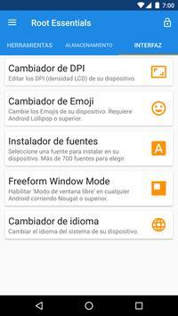 Root Essentials captura de pantalla 3