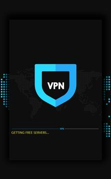 Rocket VPN – Free Proxy Master screenshot 1