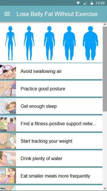 Lose Belly Fat Without Exercise For Android Apk Download