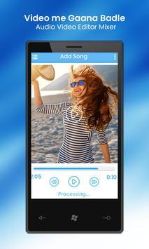 Video Me Gana Badle : Audio Video Editor Mixer screenshot 10