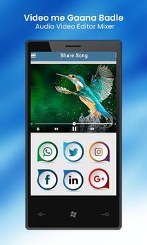 Video Me Gana Badle : Audio Video Editor Mixer screenshot 11