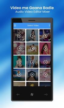 Video Me Gana Badle : Audio Video Editor Mixer screenshot 7
