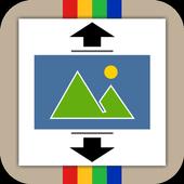 Square Photo(No Crop) icon