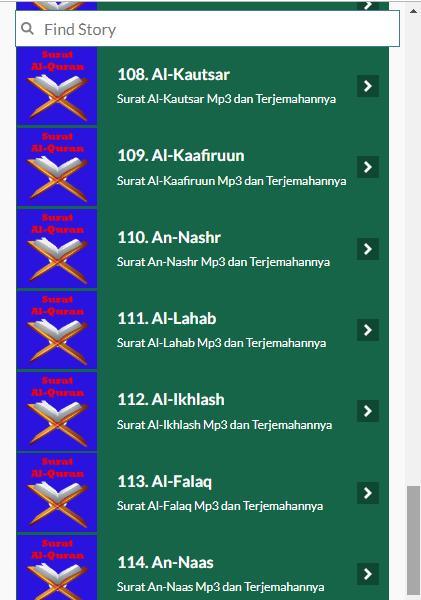 Al Quran Surat Pendek Dan Mp3 For Android Apk Download