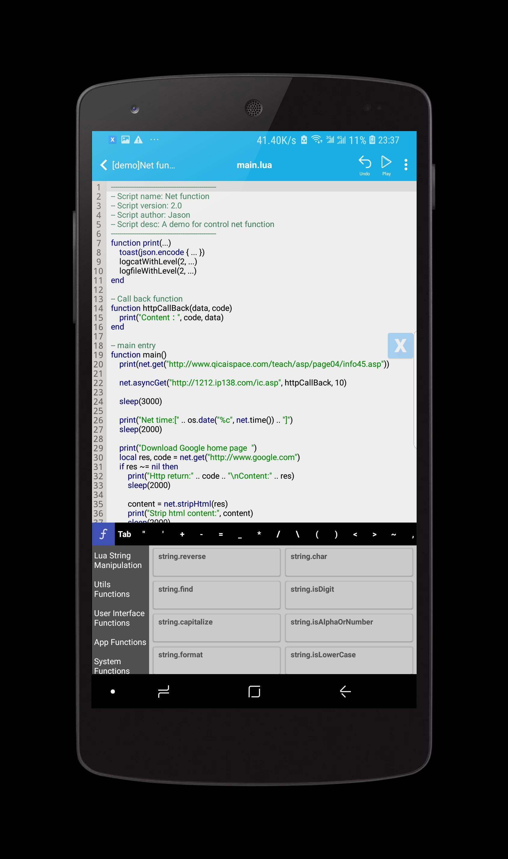 Xscript for Android - APK Download