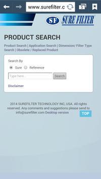 Surefilter Technology screenshot 1