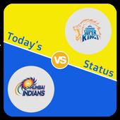 Today's IPL status icon