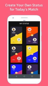 Today's IPL status poster