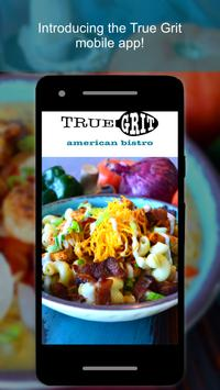 True Grit American Bistro poster